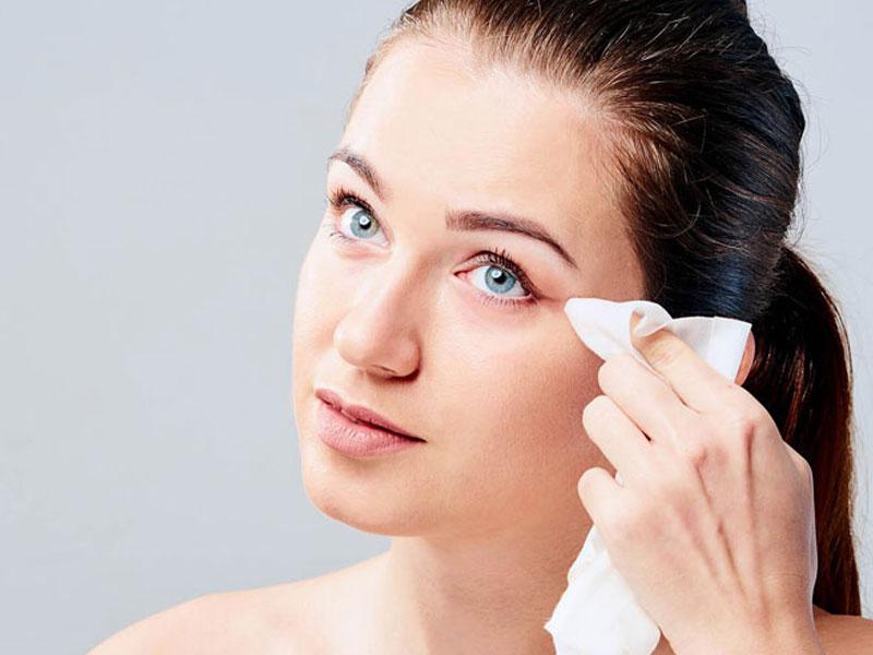 دستمال پاک کننده آرایش